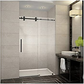 Gridscape Series Factory Windowpane Shower Screen For