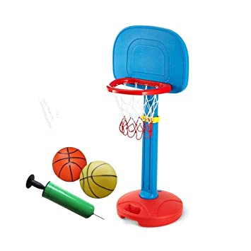 XINGLIAN Aro De Baloncesto para Niños Altura Ajustable Soporte De ...