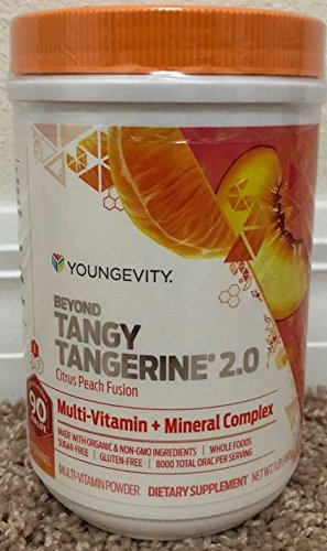 Beyond Tangy Tangerine 2.0 Citrus Peach Infusion Canister by Youngevity