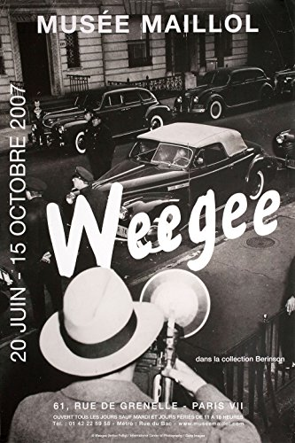 Weegee: Musee Maillol 2007 French A2 Poster