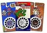 : ViewMaster ANIME 3D Cartoons - Mucha Lucha, Yu-Gi-Oh, Teenage Mutant Ninja Turtles - 9 Reels