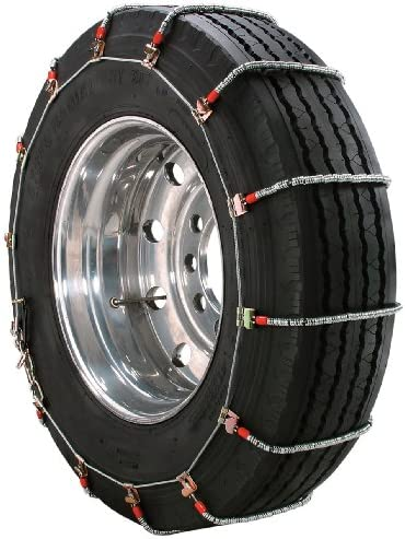 Security Chain Company TA1939 Alloy Radial Heavy Duty Truck Singles Tire Traction Chain – Set of 2