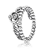 Pandora Ring My Princess Clear Cz #190880cz Size 7