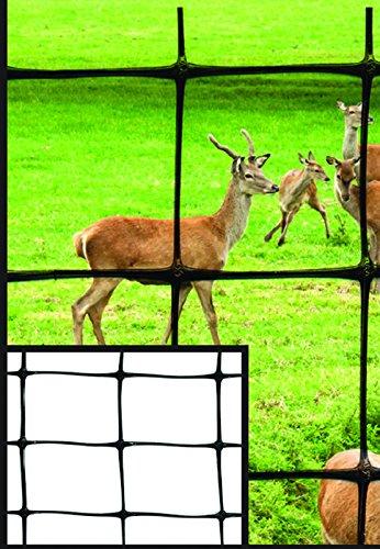 Tenax 60100109 Pro Deer Fence, Black, 7.5-Feet by 100-Feet