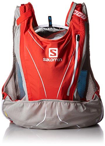 Salomon S Trinkrucksack, S-Lab, Red/Aluminium, Taille M-L