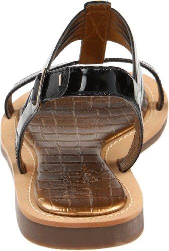 Clarks Femmes Tres Belle Sandale Slalom Noir Brevet