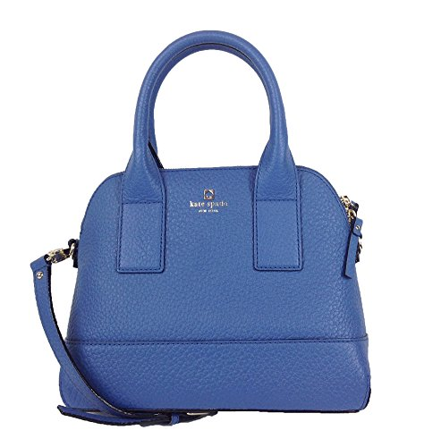 New York Small Hobo (Kate Spade New York Southport Avenue Small Jenny Leather Satchel, Bluebelle)