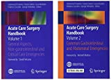 img - for Acute Care Surgery Handbook: Two-volume set book / textbook / text book