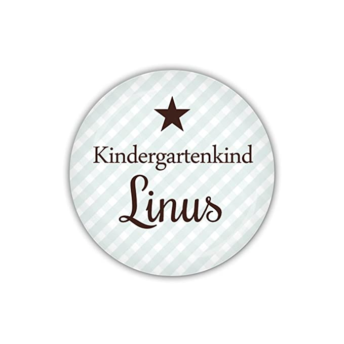 lijelove/® Button 25mm /Ø DOTS blau Kindergartenkind Art. BU967