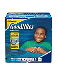 GoodNites Bedtime Underwear for Boys (Size 8 - 14 Boys - 58 ct..) BOBEBE Online Baby Store From New York to Miami and Los Angeles