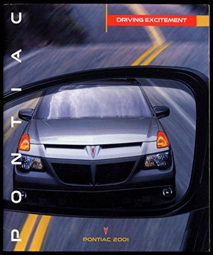 Bonneville Pontiac Sales Brochure (2001 Pontiac Sales Brochure Firebird Grand Am Grand Prix Bonneville Sunfire ++)