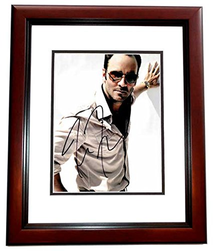 Tom Ford Signed - Autographed Nocturnal Animals Director - Fashion designer 8x10 inch Photo - MAHOGANY CUSTOM Frame - Guaranteed to pass PSA or - Ford Tom Picture