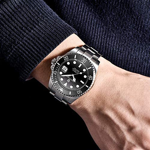 Pagani Design Brand 1639 Stainless Steel Mens Watch Automatic Mechanical Waterproof Ceramic Bezel Wristwatches WeeklyReviewer