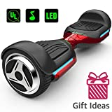 Magic hover 6.5' inch Wheels Original Electric Smart Self Balancing Scooter Hoverboard G1 with Music Speaker Colorful Lights for Kids adult-UL2272 Certificated