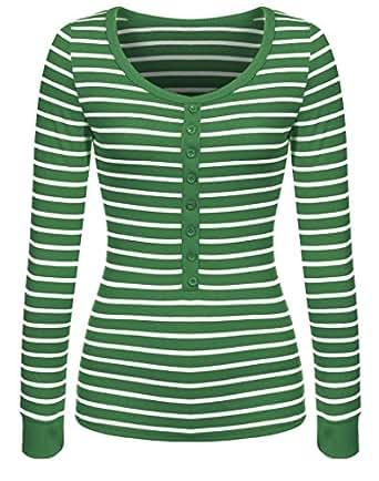 Roewe Juniors Striped Long Sleeve Button Casual Shirt