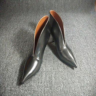 Arrière silver Décontracté Talon Femme Talons Gros ggx à A Chaussures Bride LvYuan Polyuréthane xfHTq0S7w7