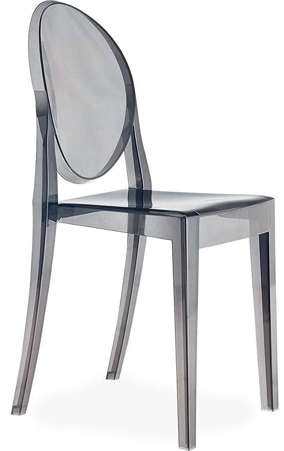 Emmiline Claro y 8 Colores Ghost Silla de Comedor, sillón ...