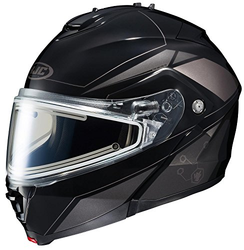HJC IS-MAX2SN Elemental Modular Snow Helmet Frameless Electric Shield (MC-5 Silver, X-Large) ()