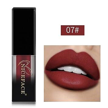 Amazon.com: YOYORI Lencería de labios mate líquido ...
