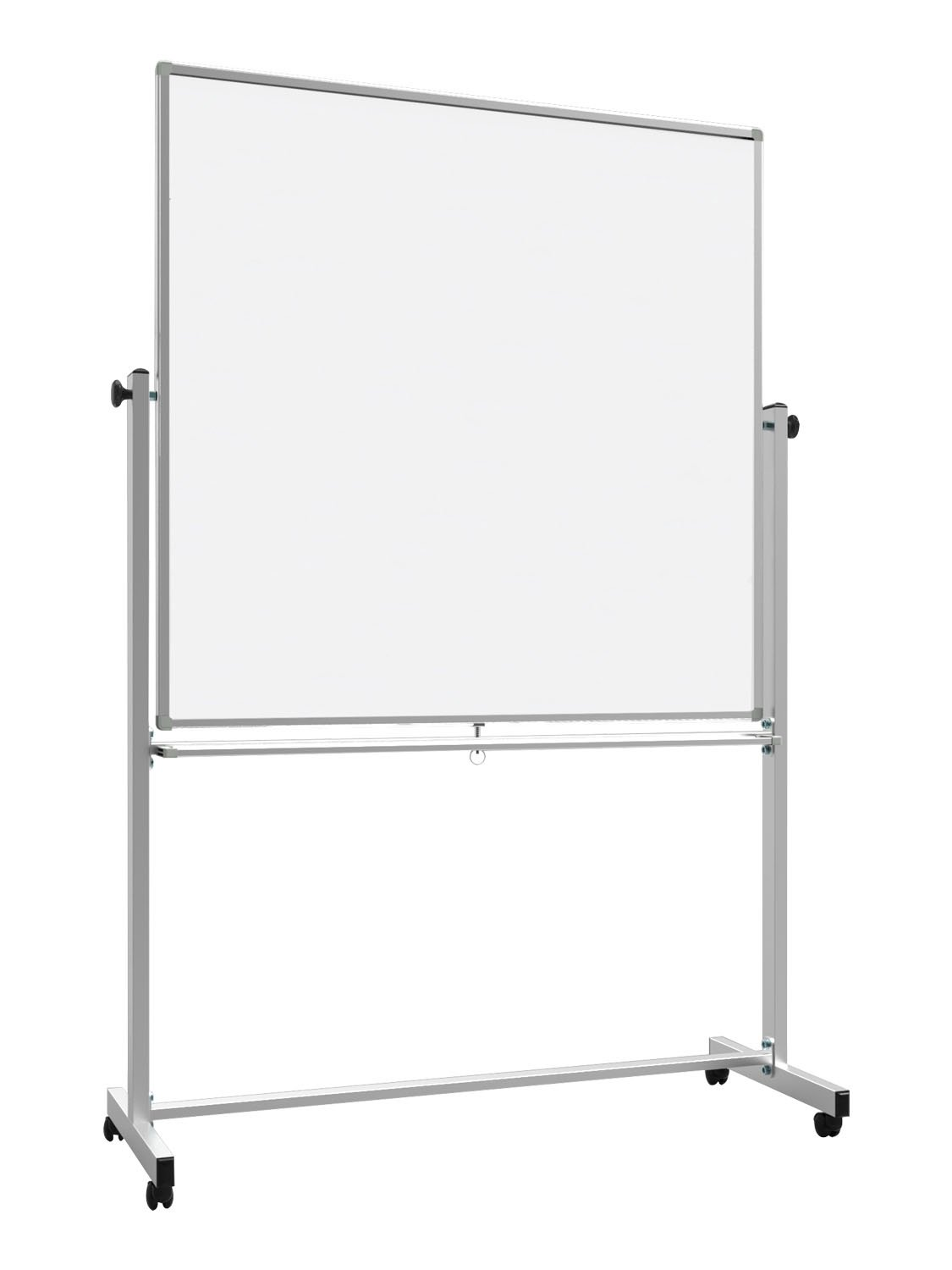 Offex 48'' x 48'' Double-Sided Reversible Magnetic Whiteboard