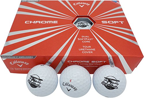 Flying is Freedom Callaway Chrome Soft Golf Balls (Sleeve of 3) by Flying is Freedom