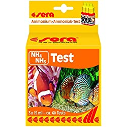 Sera Ammonium/Ammonia-Test (NH4/NH3) 15 ml, 0.5 fl.oz. Aquarium Test Kits