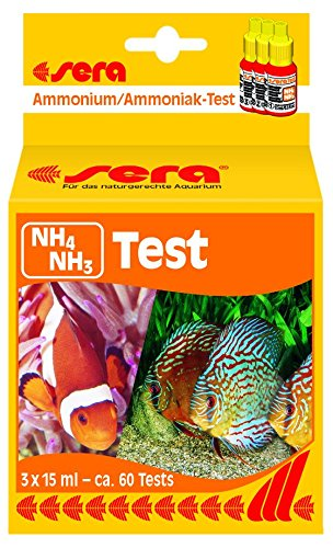 Sera Ammonium/Ammonia-Test (NH4/NH3) 15 ml, 0.5 fl.oz. Aquarium Test Kits ()