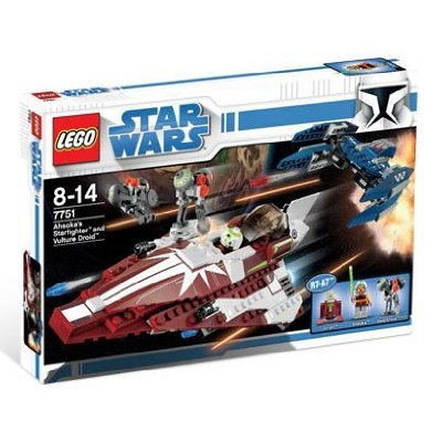 LEGO 7751 AHSOKAS STARFIGHTER AND VULTURE DROID (Lego Jedi Starfighter And Vulture Droid)