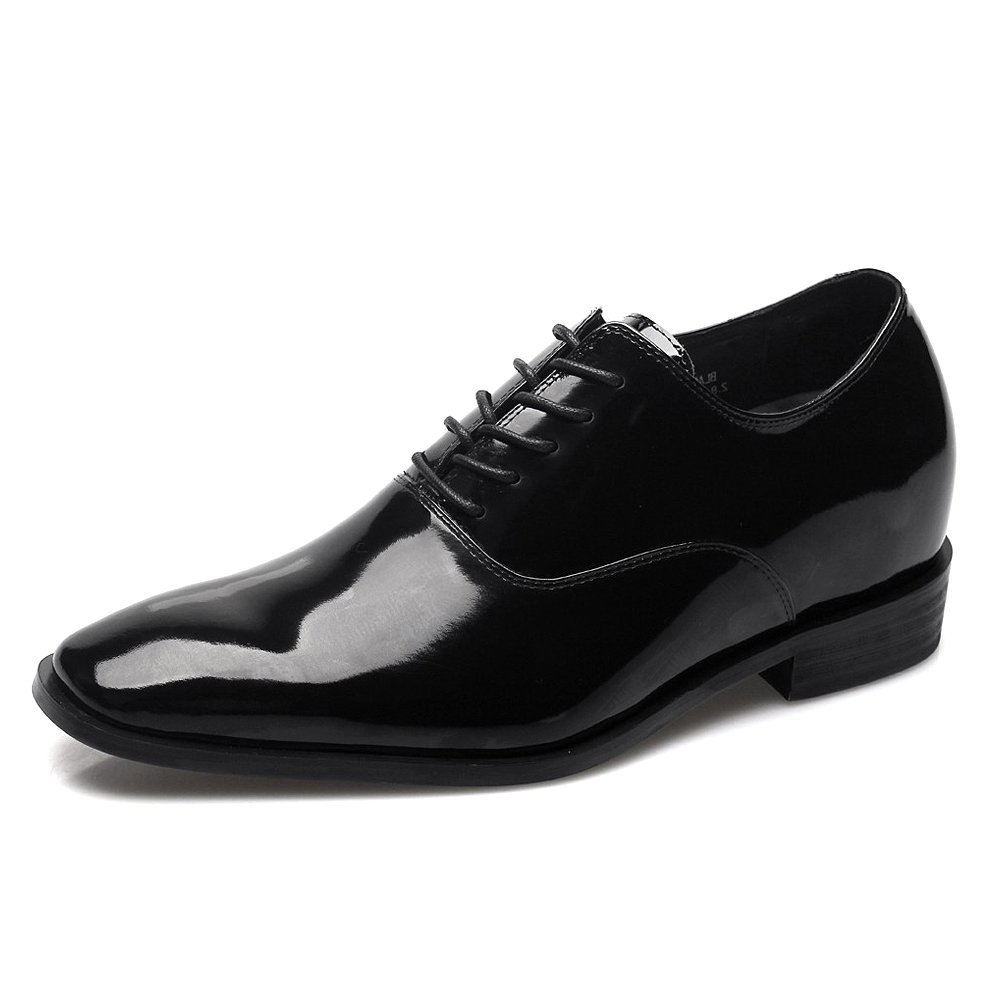 CHAMARIPA Height Increasing Shoes Classic Slip On/Lace Dress Formal Wedding Oxford Tuxedo Shoes US 11