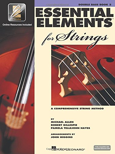 Essential Elements for Strings - Book 2 with EEi: Double Bass