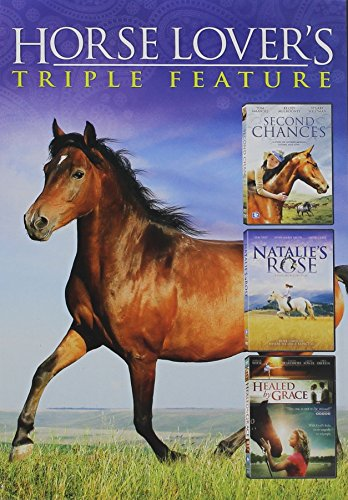 Horse Lover's Triple Feature: Second Chances / Natalie's Rose / The Wild Stallion