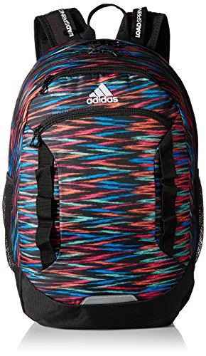 - adidas Excel III Backpack, Twister Print/Black, One Size