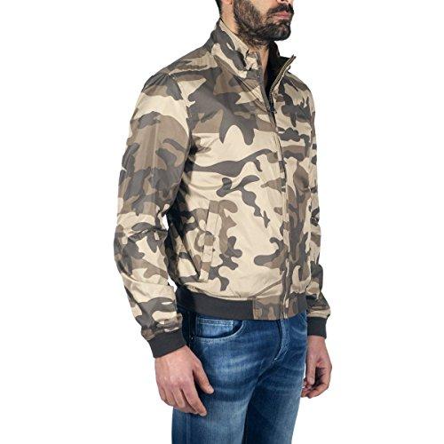 Wocps2433pt40 Woolrich Woolrich Wocps2433pt40 Uomo Camouflage Giubbotto Giubbotto qHanZS4