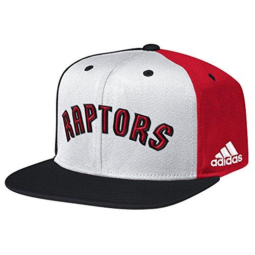 Toronto Raptors Flat (NBA Toronto Raptors Men's Team Nation Snapback Cap, White, One Size)
