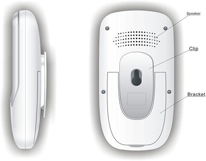 Night Vision SmartEra/® S/écurit/é sans fil Video Baby Monitor Temp/érature // Affichage temps avec musique et Two Way pour le syst/ème de talkback