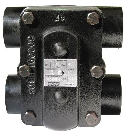 ITT Hoffman Specialty 401626 Float and Thermostatic Steam Trap