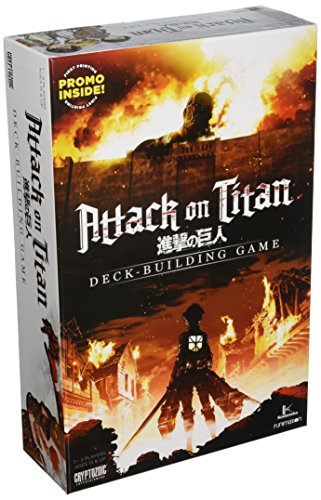 Attack On Titan Deck Building Card Game by Cryptozoic Entertainment