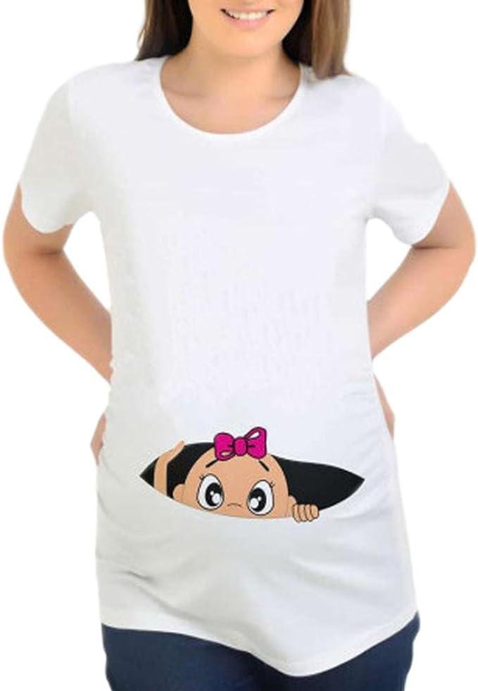 BBsmile Ropa premamá 2018 Camisetas Mujer Originales ...