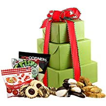 LARGE - Gluten Free Palace Holiday Delight Gluten Free Gift Tower, Gourmet Gift Baskets, Gourmet Gifts, Gourmet Gift Set, Holiday Gift Baskets