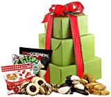 LARGE – Gluten Free Palace Holiday Delight Gluten Free Gift Tower, Gourmet Gift Baskets, Gourmet Gifts, Gourmet Gift Set, Holiday Gift Baskets