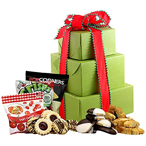 Employee gifts baskets amazon large gluten free palace holiday delight gluten free gift tower gourmet gift baskets gourmet gifts gourmet gift set holiday gift baskets negle Gallery