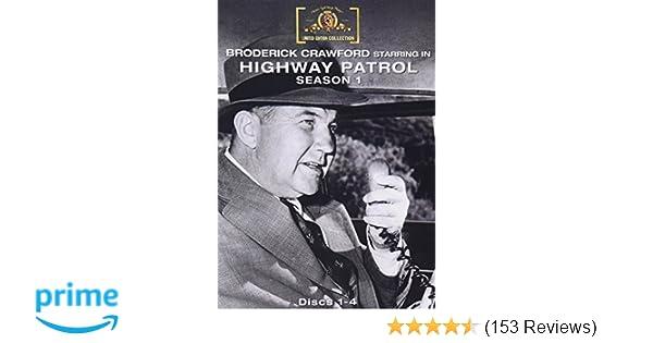 Amazon com: HIGHWAY PATROL Season 1: MGM: Movies & TV