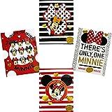 Disney Minnie Mouse Two Pocket Portfolio Folders - Set of 4