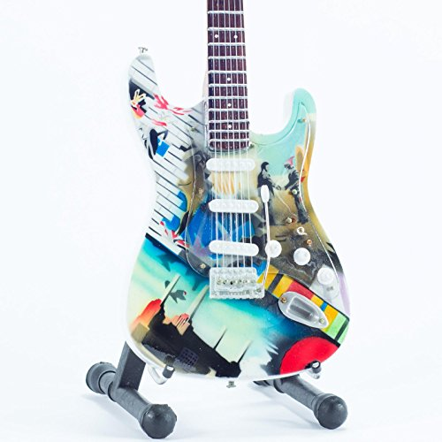 Mini guitarra de colección - Replica mini guitar - Pink Floyd - Tribute - Wish You Were Here: Amazon.es: Juguetes y juegos