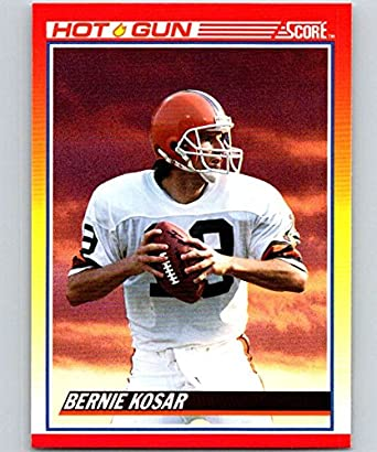 5c71e45bc52 Amazon.com: Football NFL 1990 Score #319 Bernie Kosar Browns ...