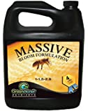 Green Planet Nutrients - MASSIVE (1 Liter) - Bloom Stimulator (1-1.5-2.8)- An Unique Blend of Vitamins, Minerals and Growth Stimulants - High Performance Flowering Additive with Organic Components Derived From Bee By-Products.