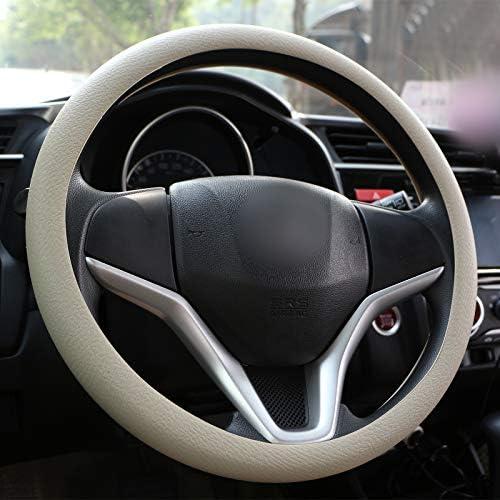 cami/ón furgoneta decoraci/ón para coche antideslizante Wittyware fundas para volante ajuste universal 38~40 cm cubierta de volante de silicona suave