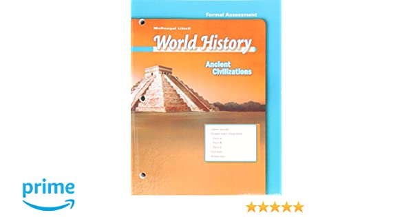Amazon.com: McDougal Littell World History: Test Guides/Answer ...