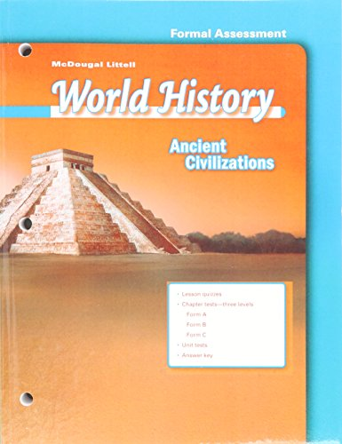 World History Ancient Civilizations Test Guides/Answer Keys Grade 6: