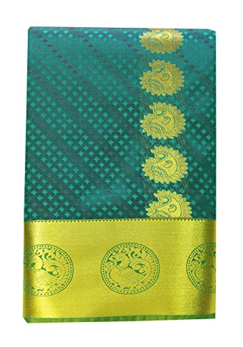 Kanchipuram Silks Sarees ( Art Silks Pattu Empssed With Butta Traditional SRBS006 )S4 (Kanchipuram Sarees)